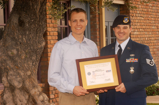 Bulwark Pest Control Receives Military Award