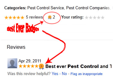 Best Ever Pest Control Company.