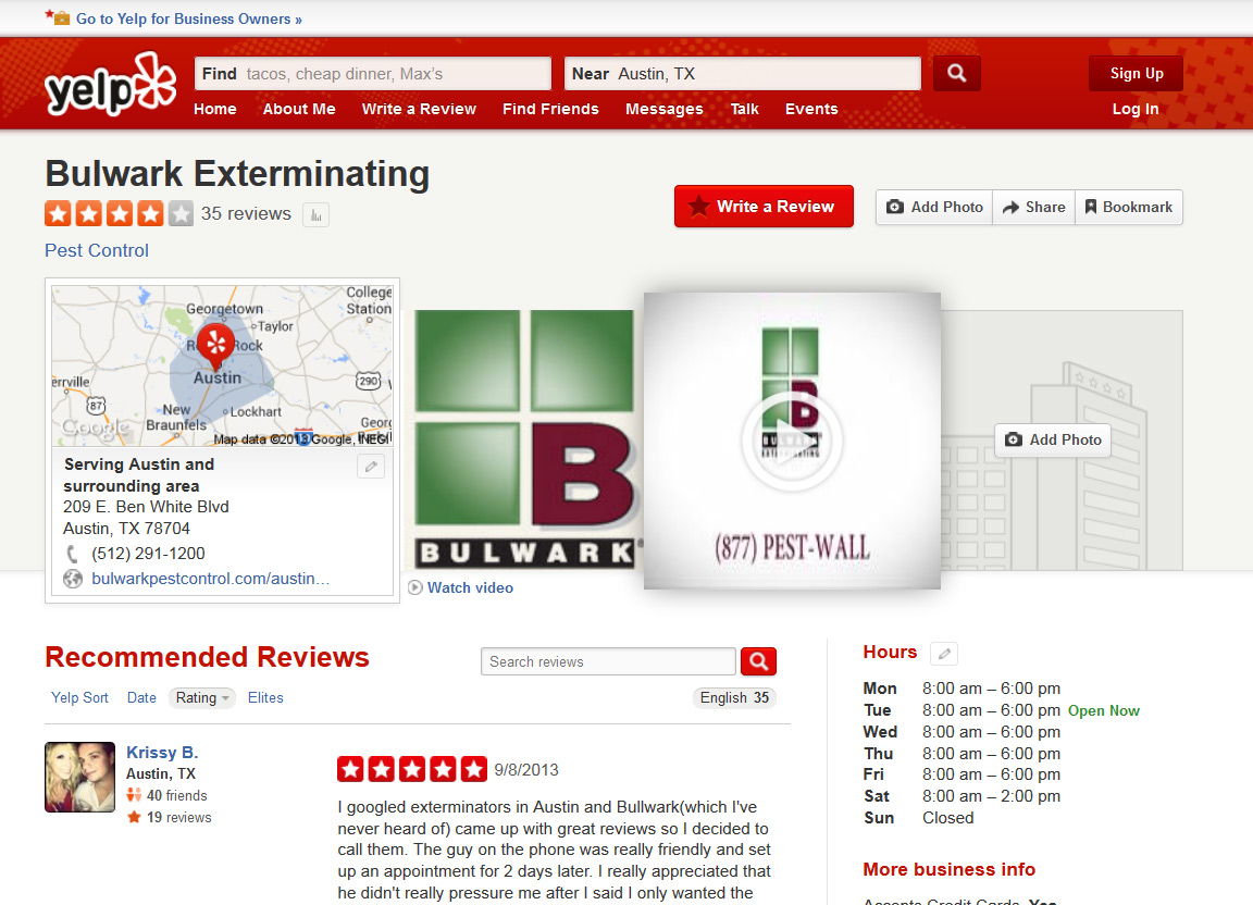 Yelp - If You Are One Of The Lucky 1 Then You Will See This Layout When You Visit Yelp Or You Can Just Append Nb 1 And See It Live Now